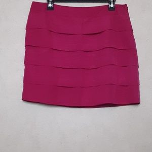 The limited violet mini skirt
